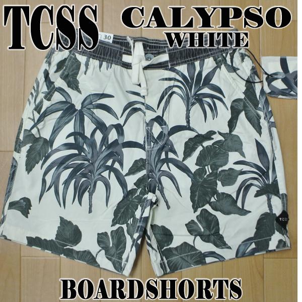330cabc7c5d TCSS/The Critical Slide Society CALYPSO BOARDSHORT BLANC 水陸両用 ...
