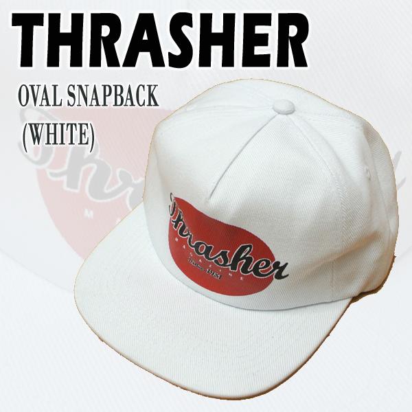Thrasher Mens Oval Hat Snapback